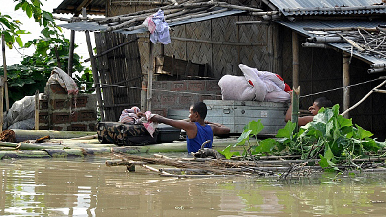 Assam: Flood situation remains grim, 3.5 lakh people affected
