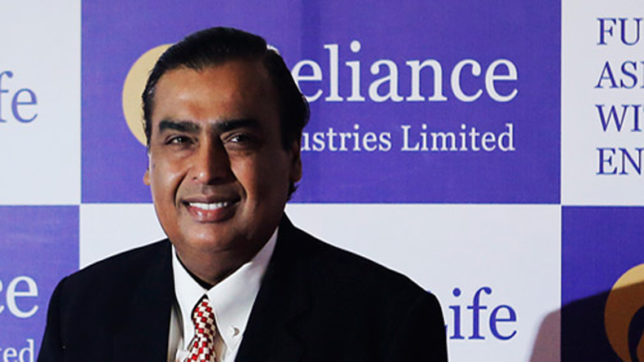 RIL crosses Rs 5 lakh crore m-cap mark for first time