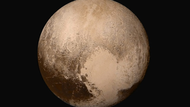 NASA unveil new maps of Pluto and its largest spectacular moon, Charon.