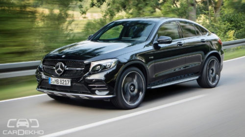 Launching today: Mercedes-AMG GLC 43 4-matic coupe