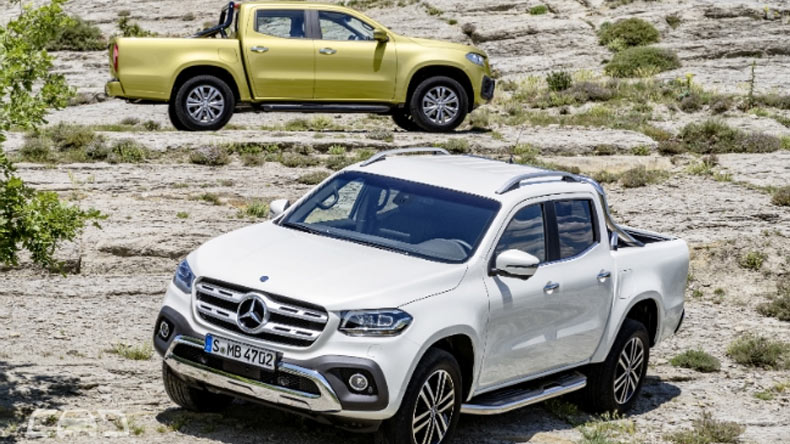 The first pickup Mercedes-Benz finally unveiled