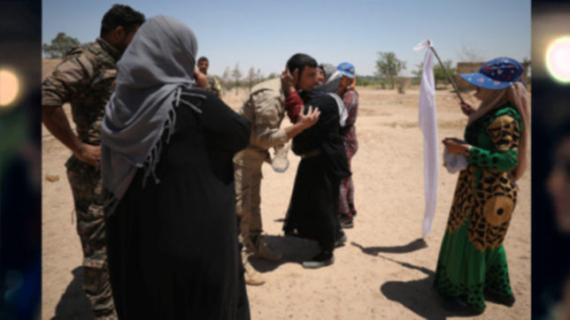 Iraq receives 350 civilians fleeing IS rule
