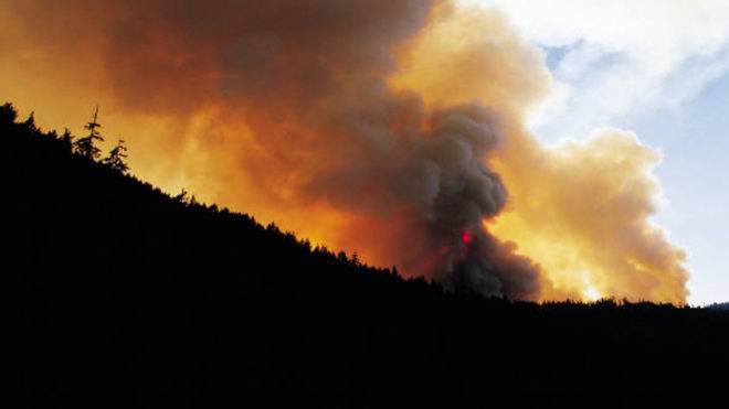 Canadian province battles over 180 wildfires