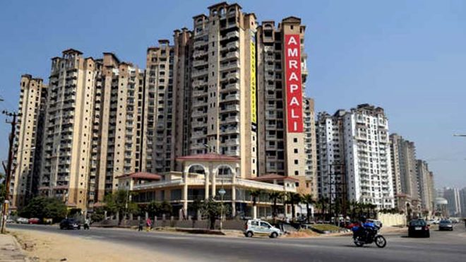 Home buyers hold candlelight march against Amrapali group in Noida