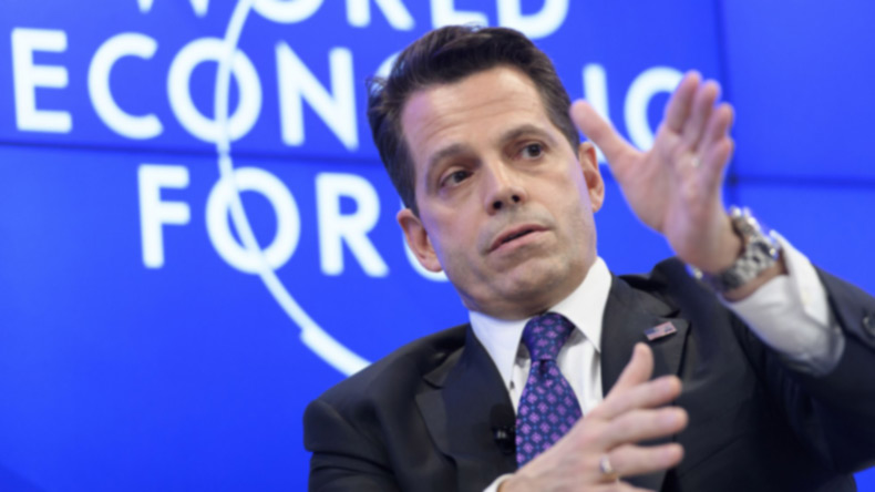Anthony Scaramucci to hold online event after White House departure