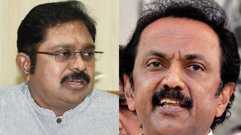 DMK-led oppn calls on TN Governor, presses for floor test
