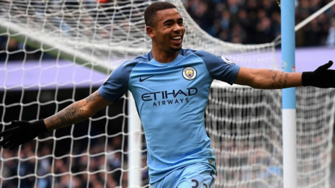 Pep wants me to happy and not worry about scoring goals says City striker Gabriel Jesus