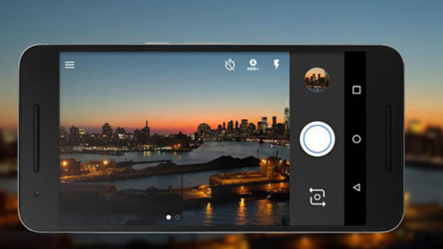 New update brings front flash to 'Google Camera'