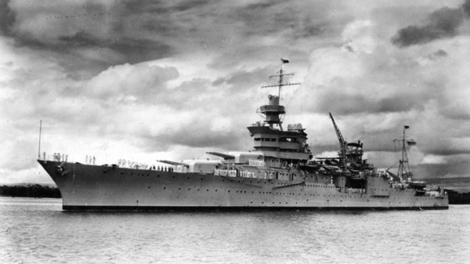 Wreckage of US warship found after 70 years