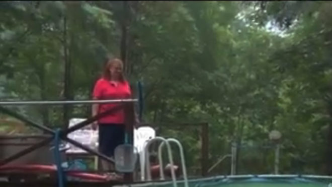Facebook group helps rescue woman stuck in swimming pool