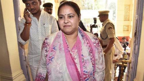 Income Tax department issues fresh summons to Lalu's daughter, son-in-law