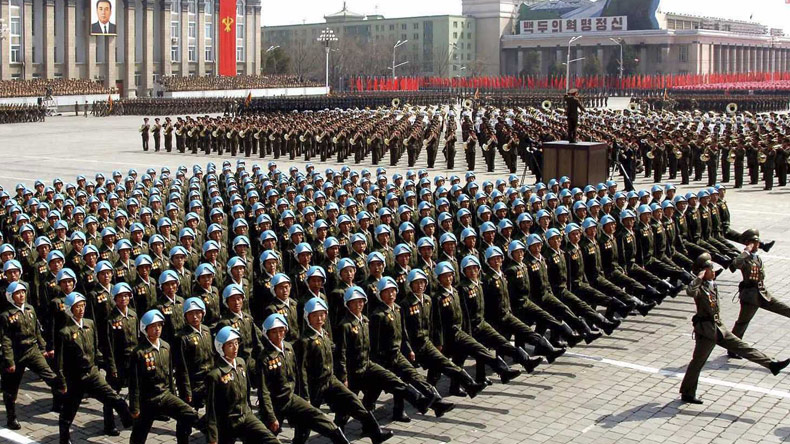 N Korea 3.5 million sign up to fight against US