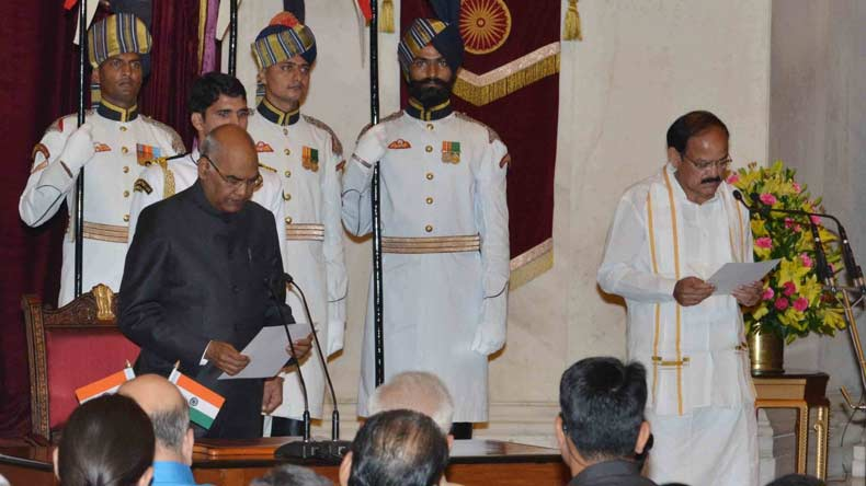 Opposition welcomes Vice President M Venkaiah Naidu, reminds him of Chair's neutrality