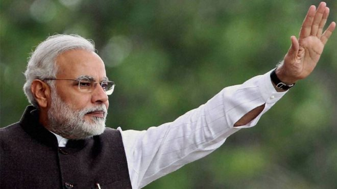 PM Modi wishes well to Navy's all-women circumnavigation team