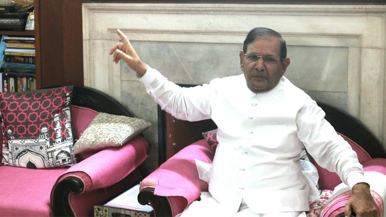 Sharad Yadav removed as leader of JD(U)'s parliamentary party