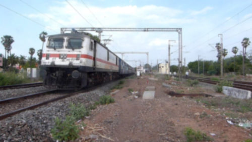 Miraculous escape for train passengers after engine breaks free