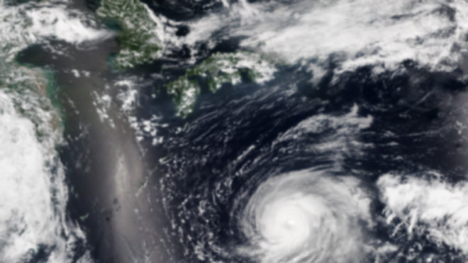 Typhoon Noru makes a landfall in Japan