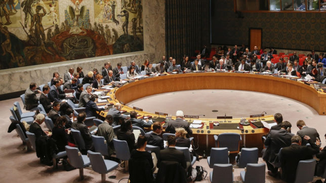 UNSC adopts resolution to thwart terrorists' access to weapons