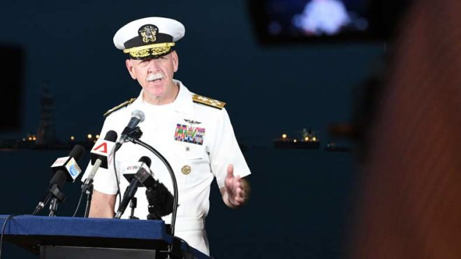 Bodies found in search for 10 missing US sailors: Admiral Scott Swift