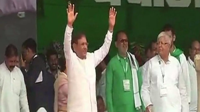 RJD rally live updates, RJD rally, patna rally, anti BJP rally, lalu