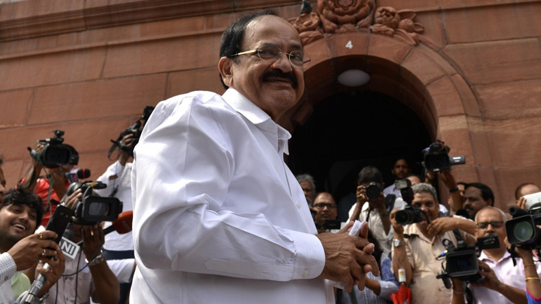 Venkaiah Naidu reaches out to MPs ahead of August 5 Vice Presidential poll