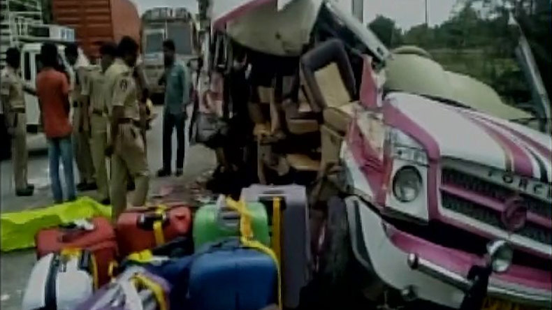 Andhra Pradesh: Five including four Spanish nationals killed in road accident
