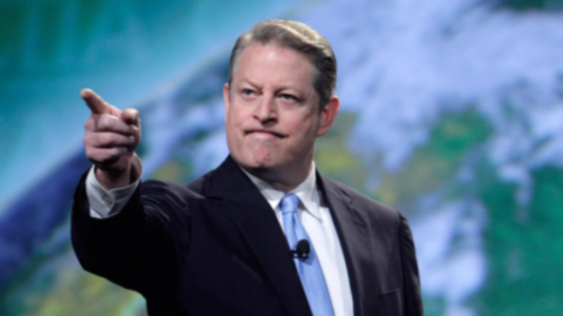 Al Gore made a surprise announcement about trump