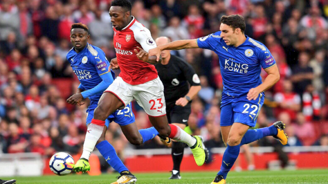 Giroud's late strike powers Arsenal past Leicester City in the Premier League opener