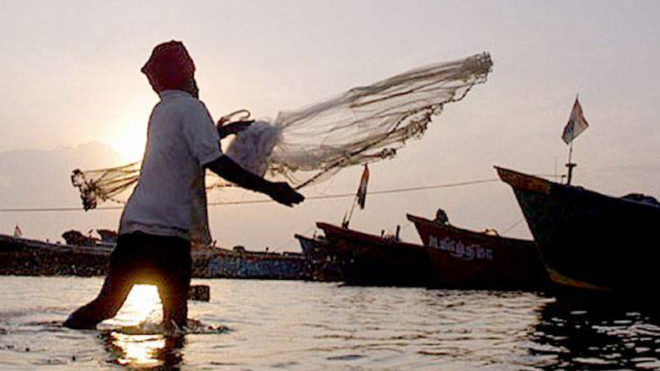 Sri Lankan Navy detains 9 Indian fishermen, interrogated at Kankesanthurai Naval camp