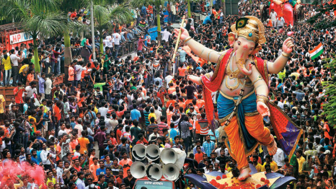 Ganesh Chaturthi 2017: Govt and HC lock horns over use of loudspeakers