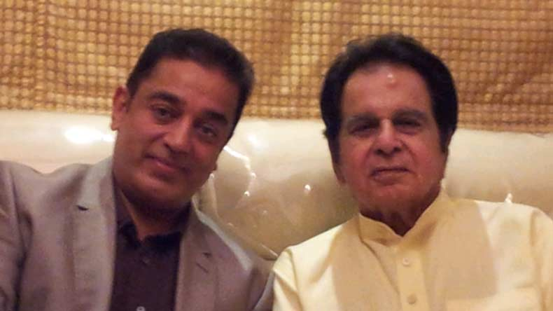 Welcome back Dilip Kumar, says Kamal Hassan
