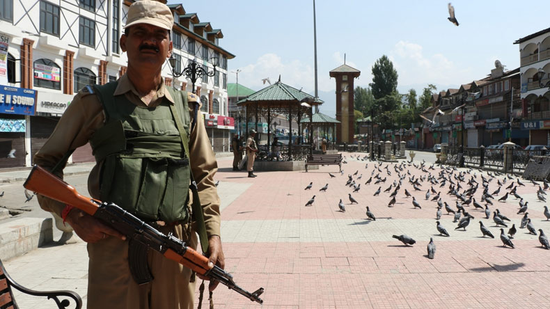 Shutdown in Kashmir to protect Article 35A