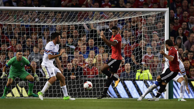 Juan Mata nets the winner as Manchester United edge past Sampdoria in pre-season friendly