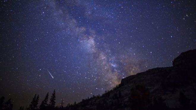 Impressive' Perseid meteor shower witnessed over UK