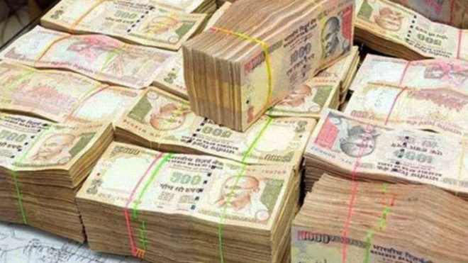 Old currency notes worth Rs 30 lakh recovered from ex-UP minister Ravidas Mehrotra's car