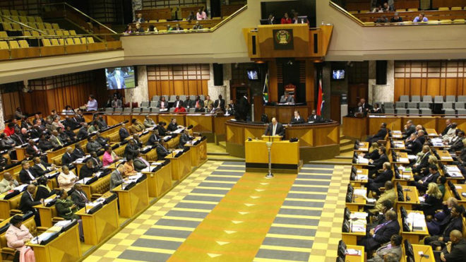 South African Parliament refuses to meet Israeli delegation