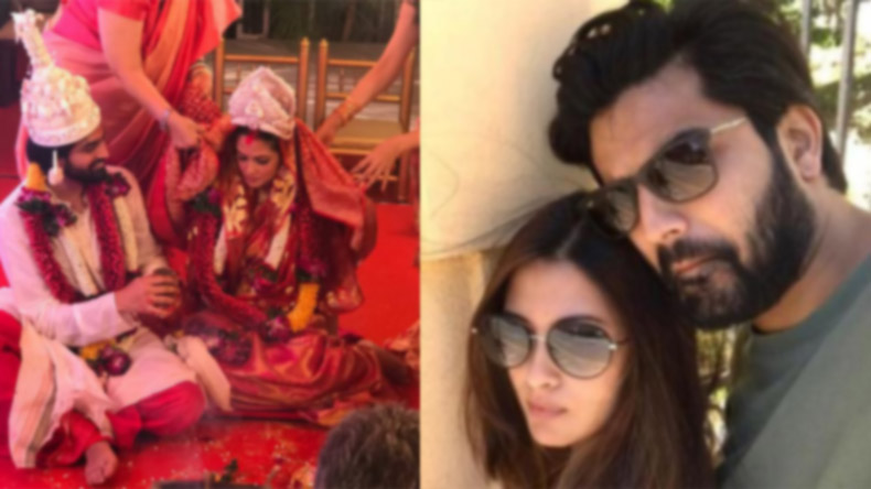 All the inside photos from Riya Sen and Shivam Tewari's wedding