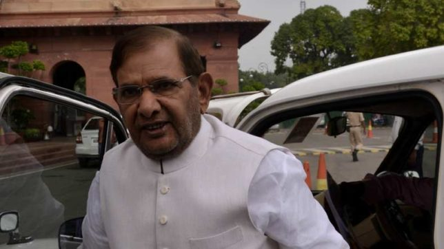 Sharad Yadav free to choose his path: Nitish Kumar