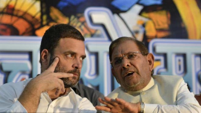 Sharad Yadav to hold meeting parallel to Nitish Kumar's in Patna