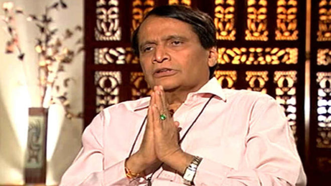 suresh-prabhu-offers-resign