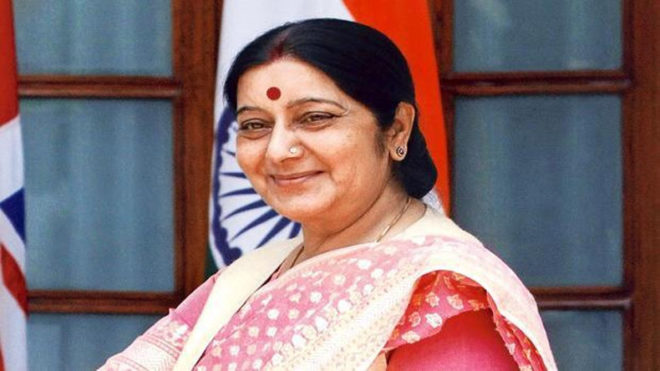 Sushma, Qatar Foreign Minister discuss welfare of Indian workers