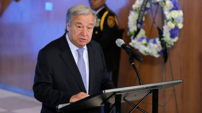 UN Secretary-General Antonio Guterres outlines strategy to reshape global finance