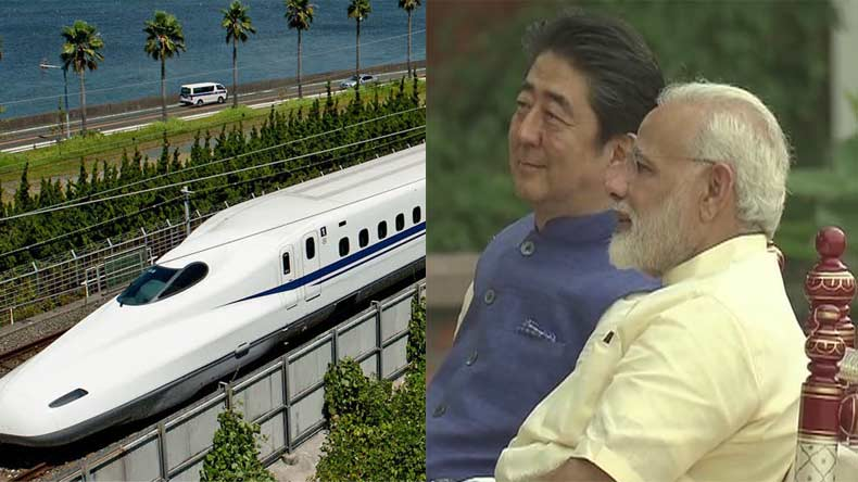 India to build bullet train with Japanese billions