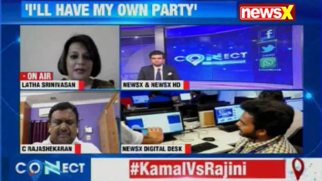 NewsX Connect: Kamal Haasan sends people into frenzy after announcing entry into politics