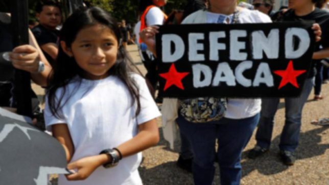 12 arrested in New York during protest over DACA elimination
