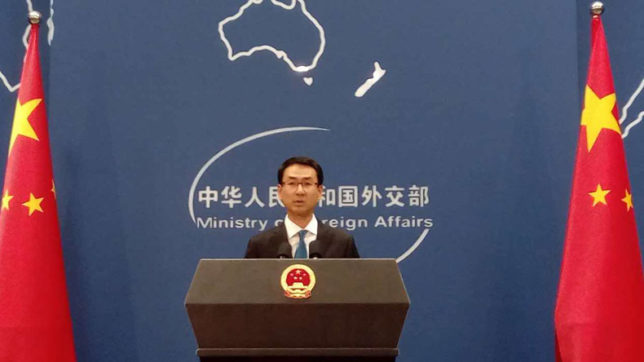 China supports UN resolution on North Korea