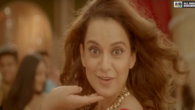 AIB's 'The Bollywood Diva' featuring Kangana Ranaut is a take on Bollywood's double standard