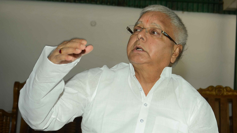 -T department seizes property worth Rs 165 crore allegedly belonging to Lalu Prasad Yadav's family
