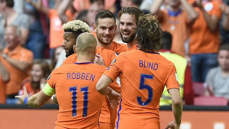 FIFA World Cup qualifiers: Davy Propper hits brace in Netherlands 3-1 win over Bulgaria