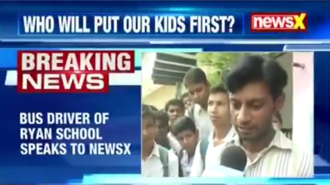 Ryan murder — When I saw Ashok he was drenched in blood: Saurav, bus driver to NewsX